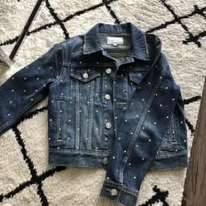 current elliott Studded Jean Jacket Size 1